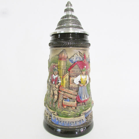Bayern Panorama Rustic .5L German Beer Stein