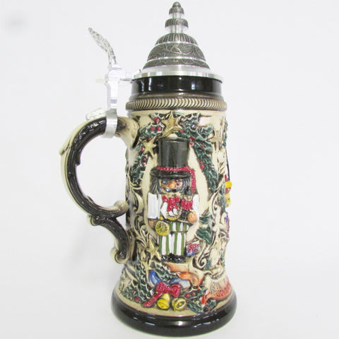 Nutcracker Suite Christmas .5L Rustic German Beer Stein