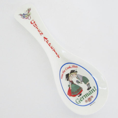 German Cook Spoon Rest