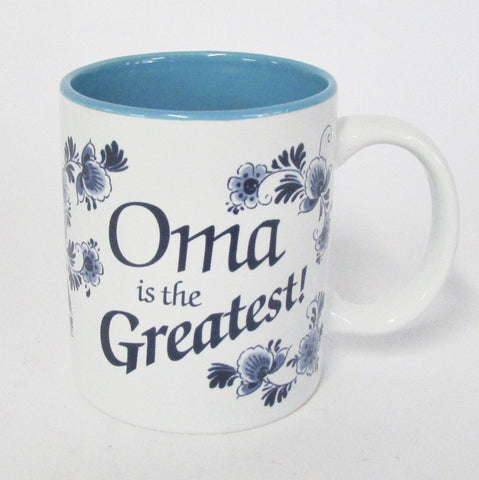 Oma is the Greatest Coffee Mug
