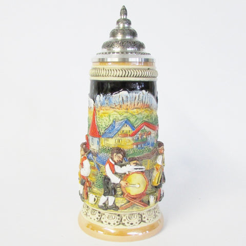 Bavarian Band .5L Beer Stein