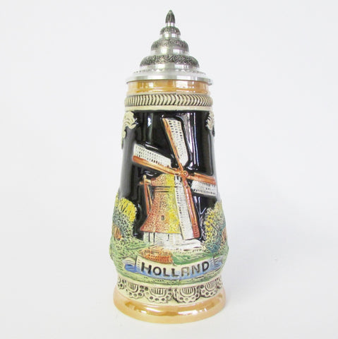 Holland Windmill .5L Beer Stein