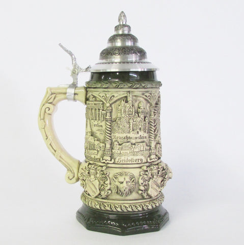 Medieval Germany Natural .75L Beer Stein