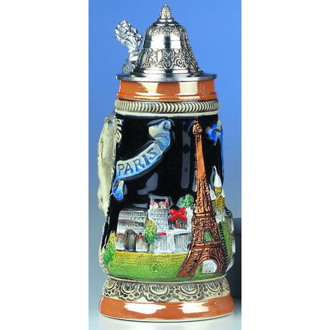 Paris Eiffel Tower .25L Beer Stein