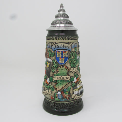 Dublin Ireland Coat of Arms .5L Irish Beer Stein