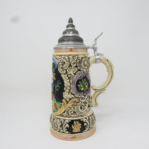 Fruhling Traditional German Spring 0.5L Beer Stein