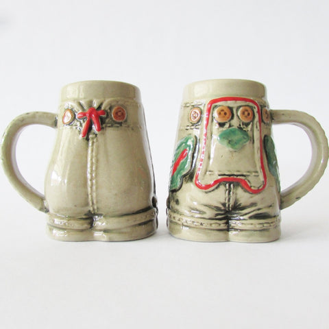 Lederhosen German Mini Stein Shot Glass