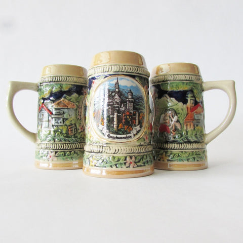 Ludwig Castle German Mini Stein Shot Glass