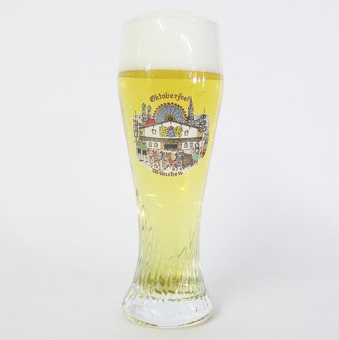Oktoberfest .5L Twisted Beer Glass