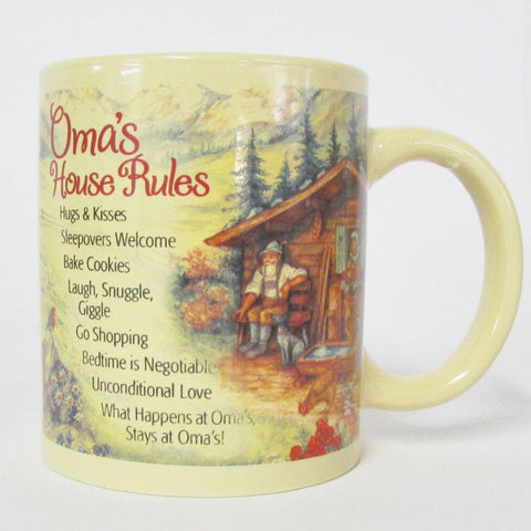 Oma's House Rules Coffee Mug