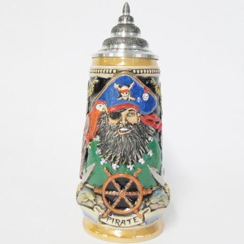 Blackbeard Pirate LE .5L Beer Stein