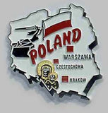 Poland Country_Magnet