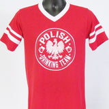 Polish Drinking Team Jersey T-Shirt_Red