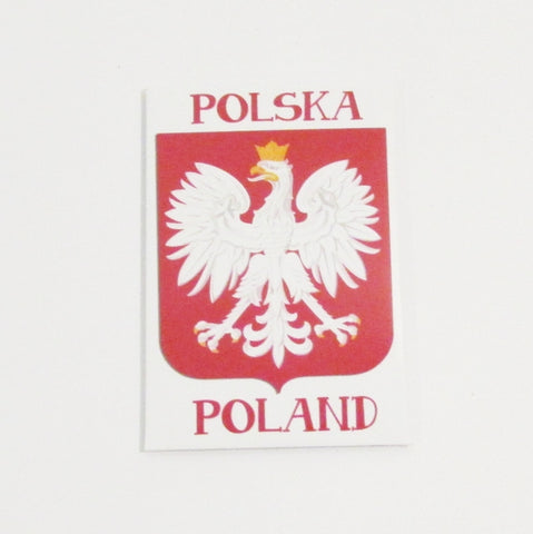 Polska Poland Eagle Shield Magnet