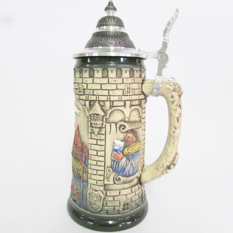 Rustic Rothenburg .5L Beer Stein