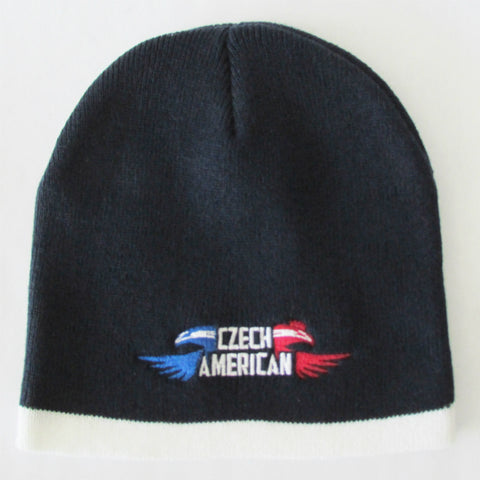 Czech American Winter Hat Beanie