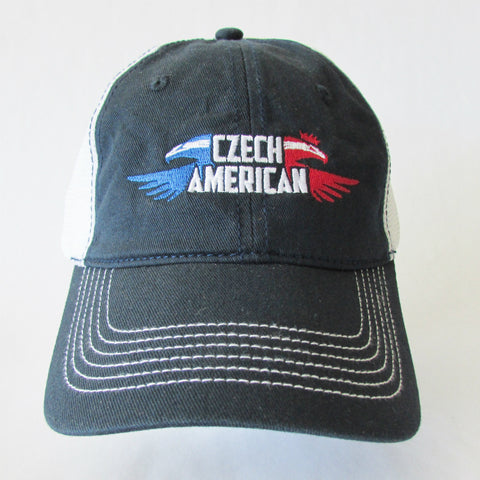 Czech American Low Profile Baseball Cap