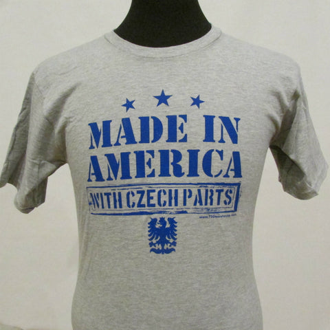 Made in America With Czech Parts Shirt - Kids