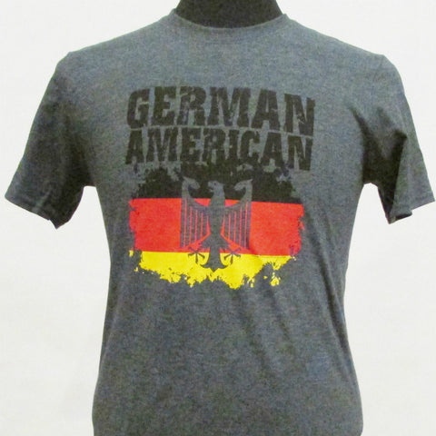 German American T-Shirt - Dark Heather