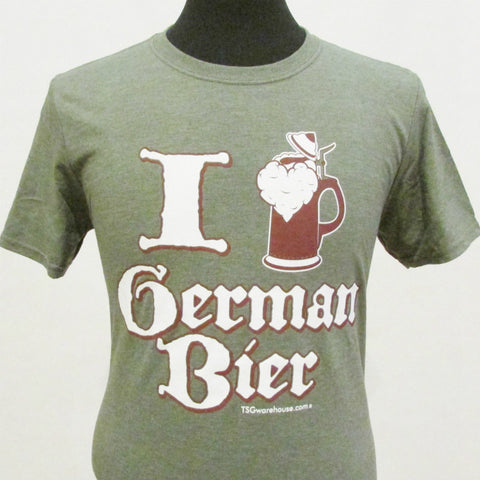 I Love German Bier (Beer) T-Shirt
