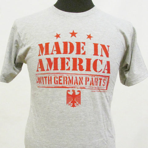 Made in America With German Parts Shirt - Kids