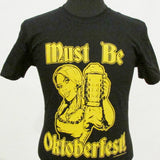 Must Be Oktoberfest Bar Maid T-Shirt - Black