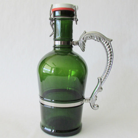 Beer Growler 2L - Nostalgic - Green