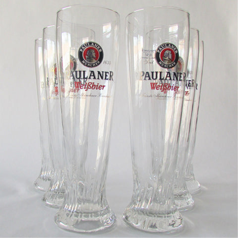 Paulaner Weissbier Glass .5L - Set of 6