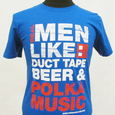 Real Men Like T-Shirt - Royal Blue