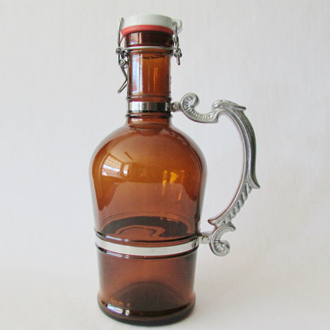 Beer Growler 2L - Romantic - Amber