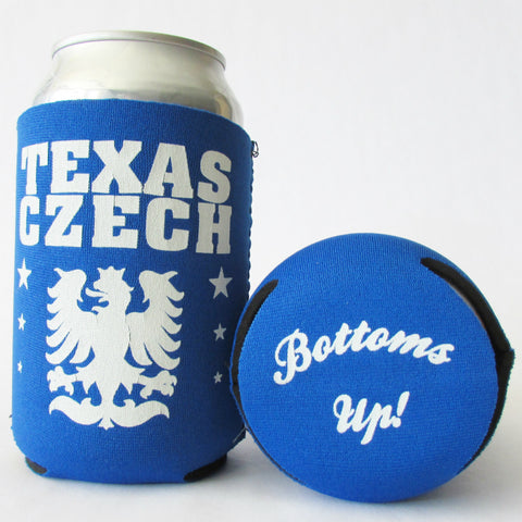 Texas Czech Koozie