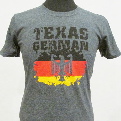Texas German T-Shirt Dark Heather