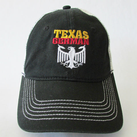 Texas German Low Profile Mesh Cap