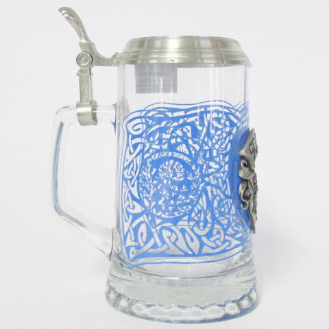 Scotland .5L Glass Beer Stein
