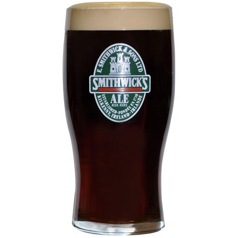 Smithwick's Label Pint Glass