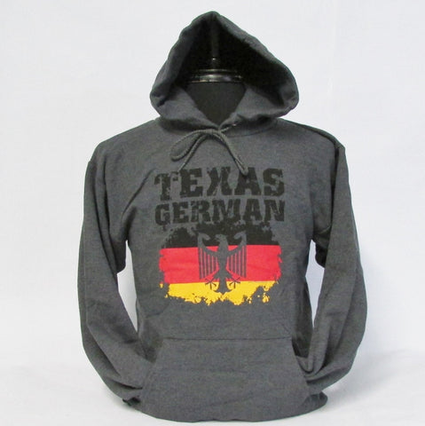 Texas German Hoodie Charcoal
