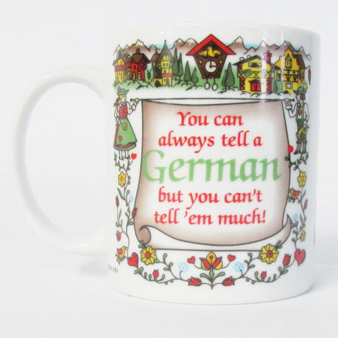 Tell A German Coffee Mug