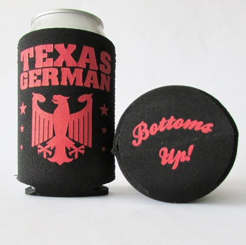 Texas German Koozie