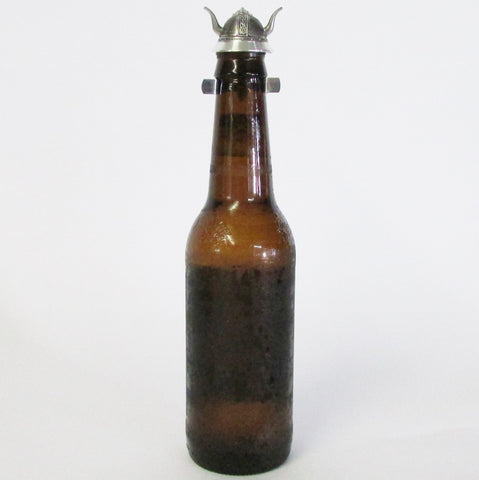 Viking Helmet Beer Bottle Topper Lid
