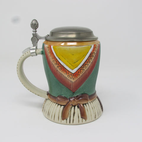 German Drindl .5L Beer Stein