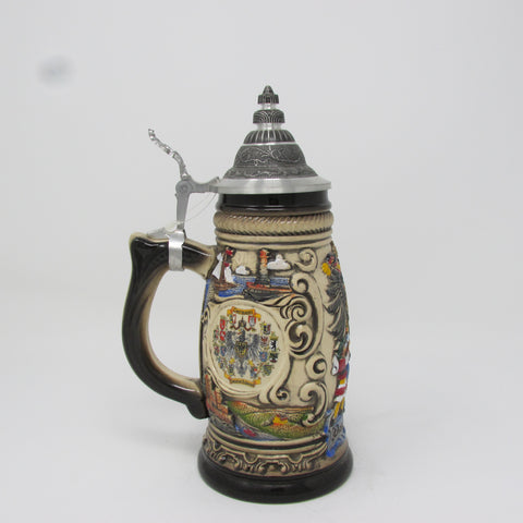 German Deutschland Eagle .25L Beer Stein