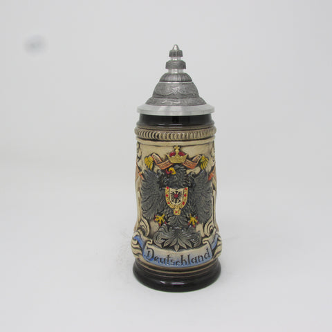 German Eagle Flag .25L Beer Stein