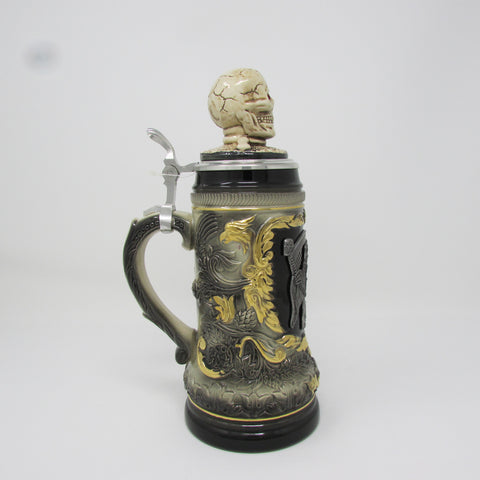 Grim Reaper  .5L German Beer Stein