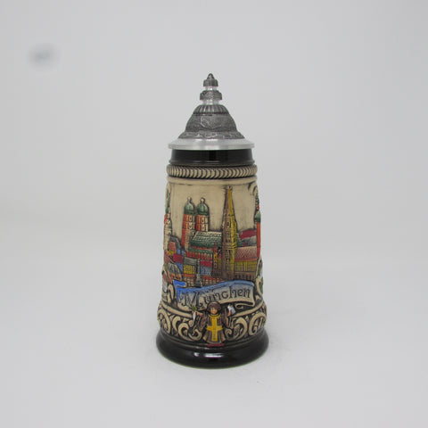 Munich Germany Cityscape .25L Beer Stein