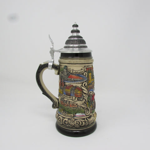 Rhein River Traditional .5L German Beer Stein