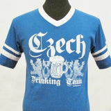 Czech Drinking Team Jersey T-Shirt_Blue