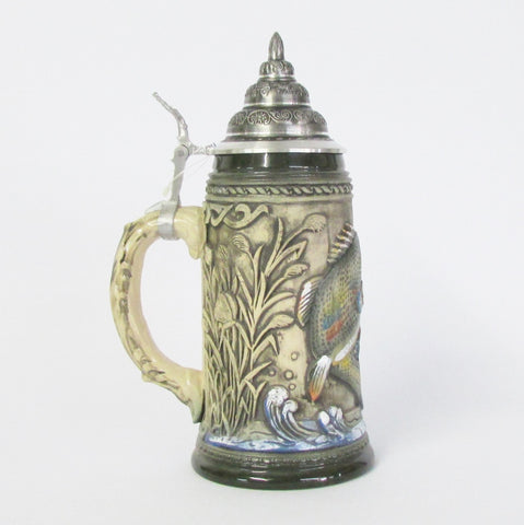 Big Mouth Bass Fishing .75L Beer Stein