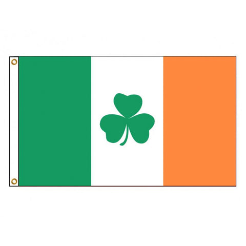 Ireland Shamrock Flag_ Irish Clover 3'x5'