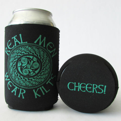 Real Men Wear Kilts_Scottish Celtic Koozie
