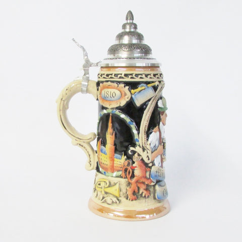 200 Years of Oktoberfest .75L Beer Stein